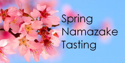 Spring Namazake Tasting